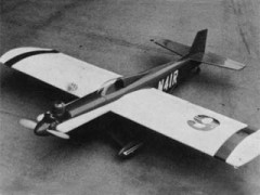 Miss Cosmic Wind model airplane plan