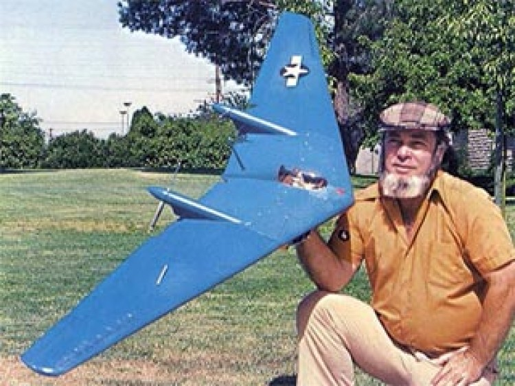 Northrop N9M model airplane plan