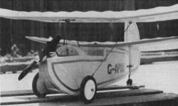 Pou du Ciel HM-14 model airplane plan