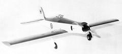 Sea Fury model airplane plan