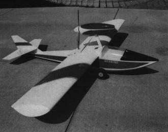 Seawind model airplane plan