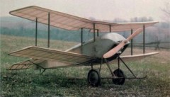 Sopwith Tabloid  model airplane plan