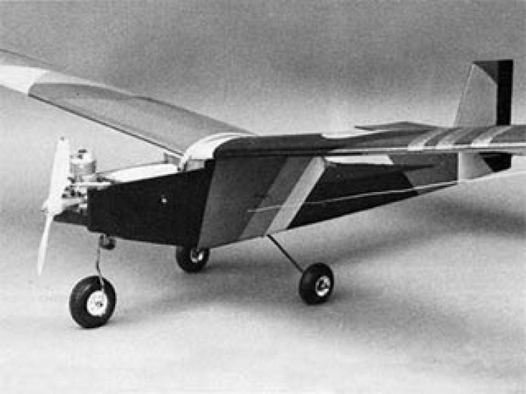 Square Hare model airplane plan