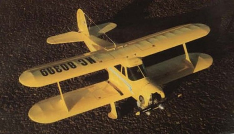 Stagger Wing Beech model airplane plan