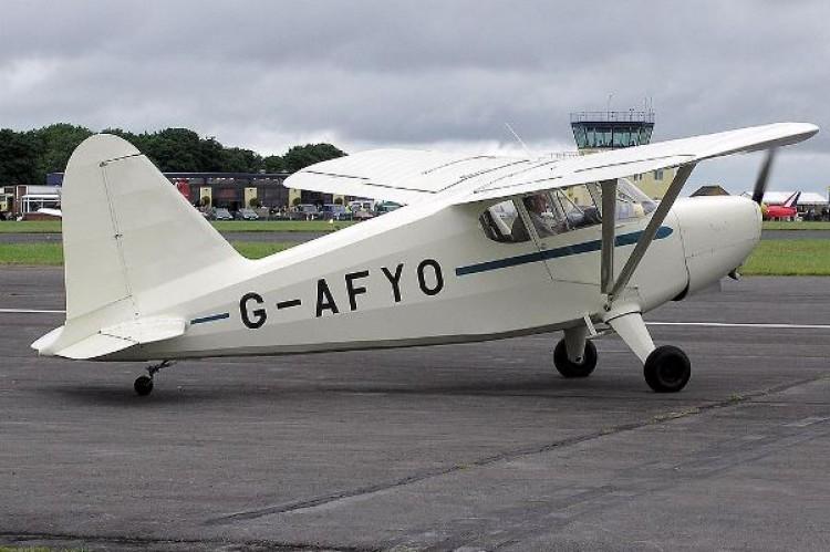 Stinson 105 model airplane plan