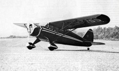 Stinson SR-3  model airplane plan