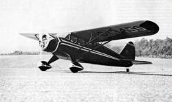 Stinson SR-3 model airplane plan