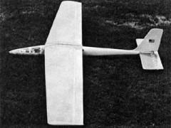 Top Slider model airplane plan