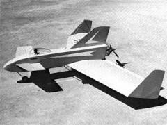 Trident model airplane plan