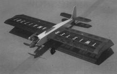 Twister model airplane plan