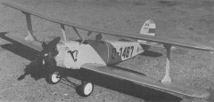 Udet U-12 Flamingo model airplane plan