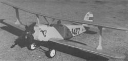 Udet U-12 Flamingo model airplane plan