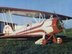 Waco CTO Taperwing model airplane plan