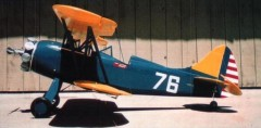 Waco PT-14 UPF-7 model airplane plan
