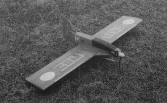Whirlwing model airplane plan