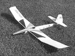 Wind Surfer Baby model airplane plan