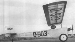 Albatros model airplane plan