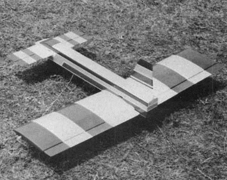 Boxy-Z model airplane plan