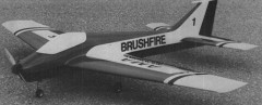 Brushfire model airplane plan