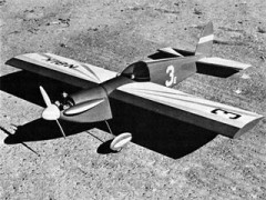 Cut Less model airplane plan
