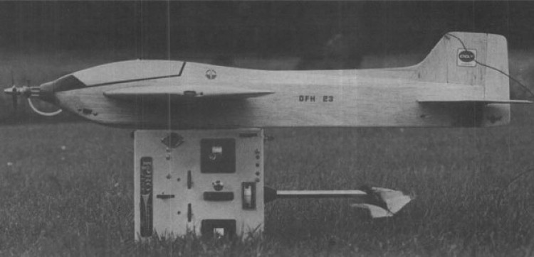 DFH 23 model airplane plan