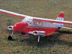 Dornier DO-28 model airplane plan