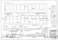 Flinger model airplane plan