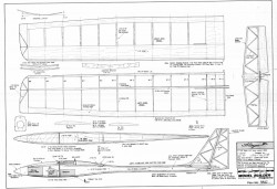 Flinger model airplane plan