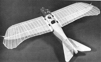 GOTHA TAUBE LE-4 model airplane plan