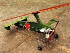 KAYABA Ka-1 model airplane plan