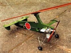 KAYABA Ka-1 model airplane plan