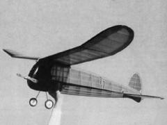 Pacer C model airplane plan