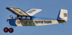 TRENTON TERROR model airplane plan