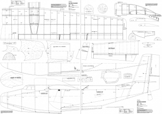 Water Ranger model airplane plan