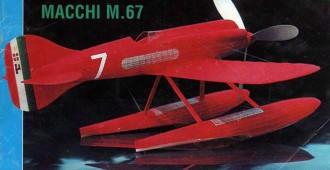 Macchi M 67 model airplane plan