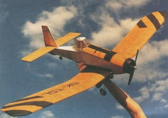 PZL M-18 Dromader model airplane plan