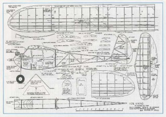 Viking 110 model airplane plan
