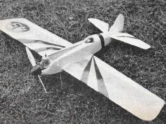 Acrobator model airplane plan