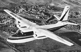 Aero Commander 560 model airplane plan
