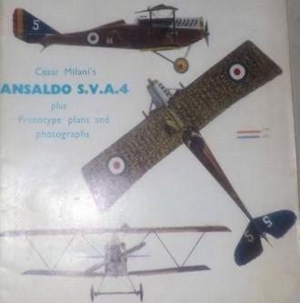 Ansaldo SVA 4 model airplane plan