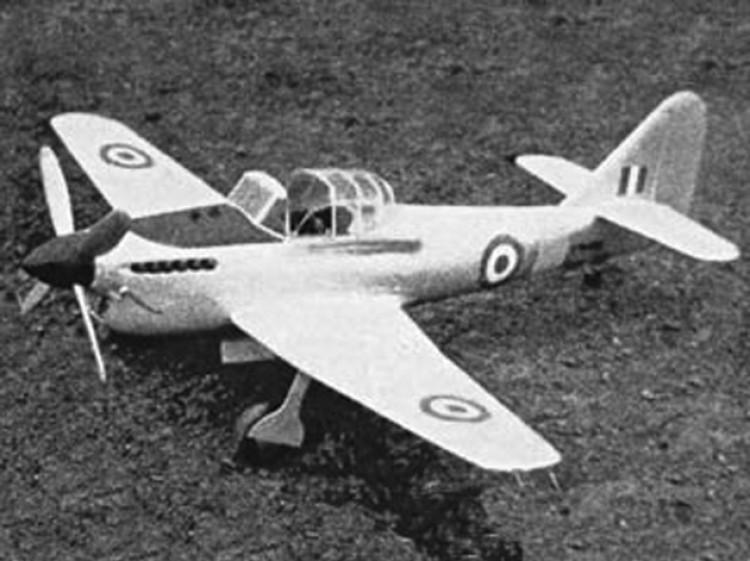 Avro Athena model airplane plan