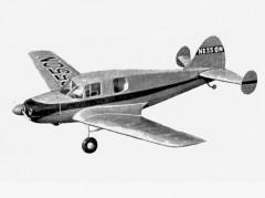 Bellanca Cruisemaster model airplane plan