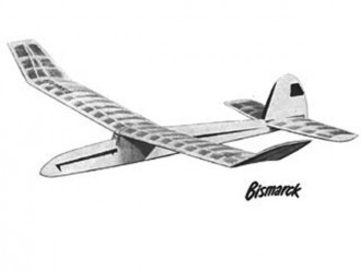 Bismarck model airplane plan