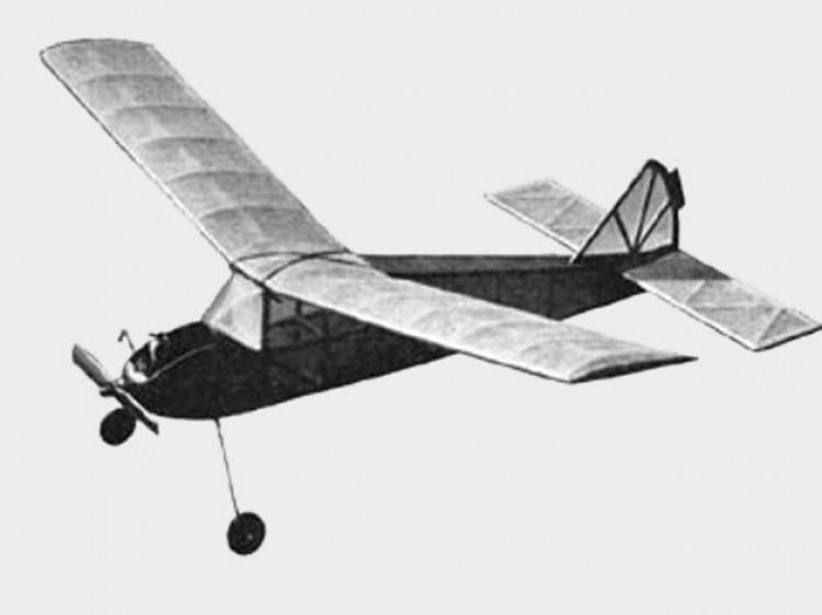 Chug Buggy model airplane plan