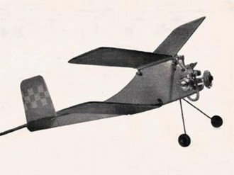 Clancy II model airplane plan