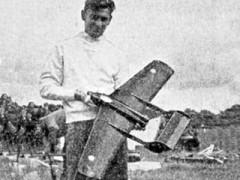 D.H 110 model airplane plan