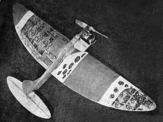Ellipitas model airplane plan