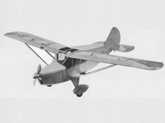 Foster Wicko model airplane plan