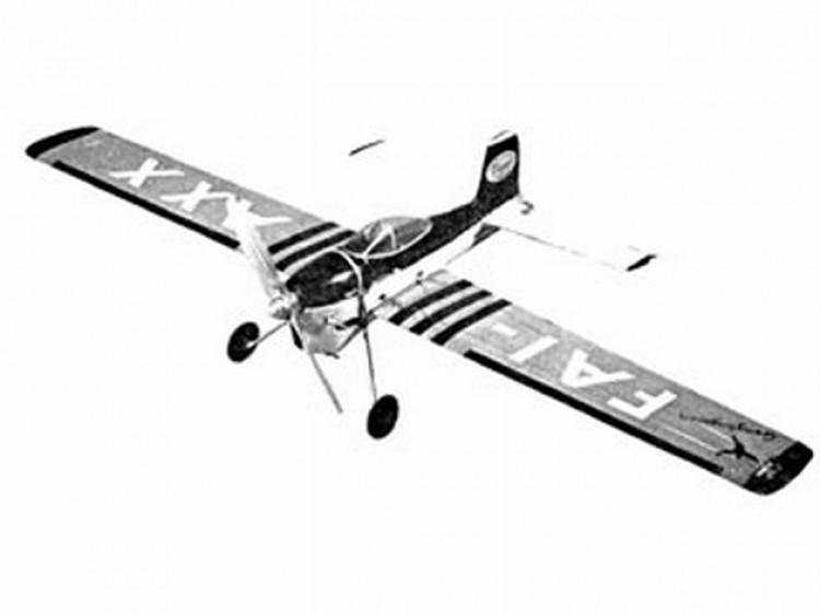 Gengangaren model airplane plan