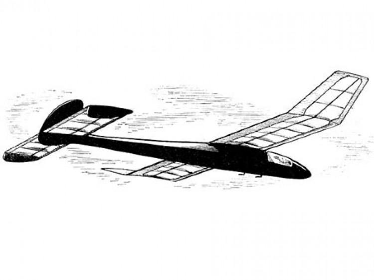 Haltonian model airplane plan